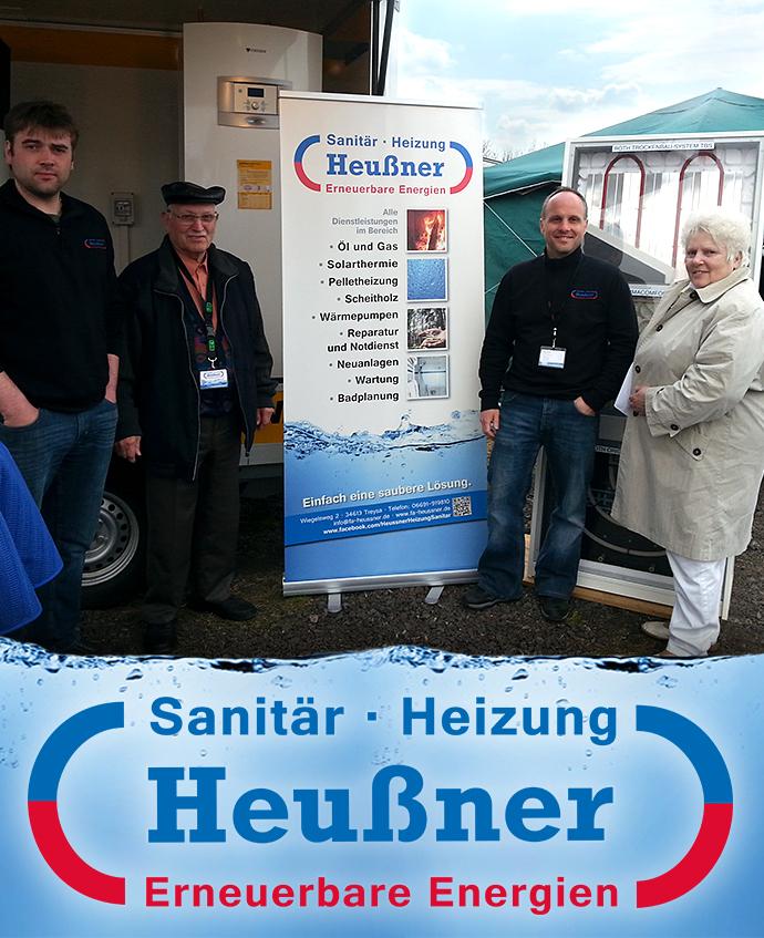 Firma Heußner auf der Ausstellung